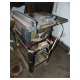 """Craftsman 10"""" table saw & stand (HEAVY, UNTESTED &"""