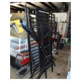 Metal bunk bed / desk combo - unassembled -