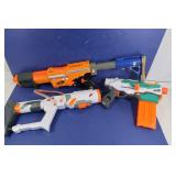 NERF Gun Lot-TriStrike, Alpha Trooper SC&more