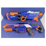 2 NERF Hyperfire Elite Guns
