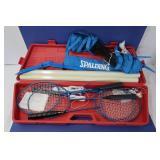 Spalding Badminton Set w/Case-Like New