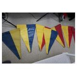 Pennant Flags for Rainbow Play System