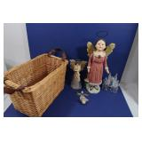 """Angel Lot-2 Figurines(18"""", 10"""