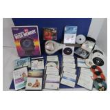 Misc Lot-Brookstone Back Massager, Yoga DVD