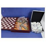 Backgammon & Dominoes