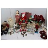"Misc Christmas Lot-3 Sm. Nutcrackers(8 1/2""H),"
