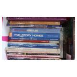 Assorted Books-Home Plans, Kitchens & more