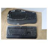 2 Logitech Keyboards