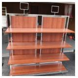 Commercial Store Shelving Unit on Wheels5