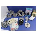 Electrical Lot-Receptacles, Covers, Boxes & more