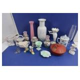 Vintage Glassware-Napcoware, Japan, Vase &more