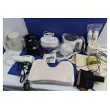 Misc Lot-Heat Pad, Hair Dryer,Jewelry CleaningMach