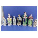Figurines-some Occupied & Japan
