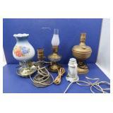 5 Vintage Lamps