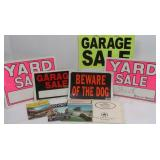 Misc Plastic Signs &more