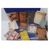 Vintage Repair Manuals &more