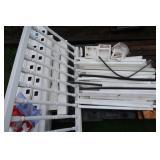 Plastic Vinyl Fence w/Hardware