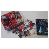 Spidey Lunchbox & Puzzle, Batman Puzzle