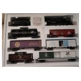 NIB Masonic Train Set-6 Car Set-O Gauge-3-Rail