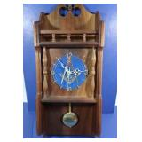 Masonic Clock Handcrafted by H. Immel, Sr