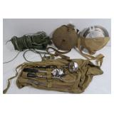 Official Boy Scout Hammock, Mess Kit, Utensils&