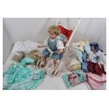 Doll Baby & Stroller