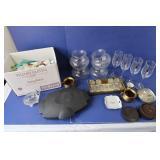 Hotel Soaps/Creams, Microgrill, Wine Glasses&more