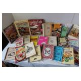 Lot of Cookbooks(excellent recipes)