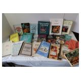 Vintage Cookbooks, Oprah Book, Catering Book