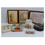 """2 Inspirational Pictures(12x9"""")&more"""