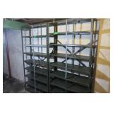"2 Metal Shelving Units-36x12x75"""