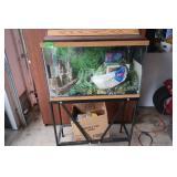 Fish Tank(30x13x39) inc. Gravel,Pumps,Plants&more