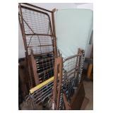 2 Metal Framed Invacare Hospital Beds