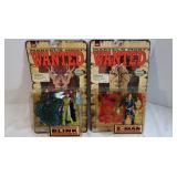 2) 1998 Marvel Comic Collector Edition Figures-NIP