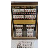 The Heritage of the US American Stamp/Penny Coll &