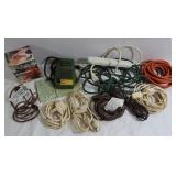 Extension Cords, Spit Rotator, Raft Inflator&more