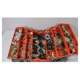Flambeau Plastic Tool Box w/Brass Plumbing Fitting