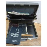 Samsonite Hardcase Briefcase w/Drafting Booklets