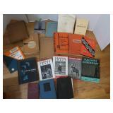 Vintage Book Lot-1930 Webster Dict, 1940