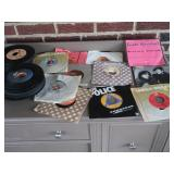 Various 45 Records-Lot