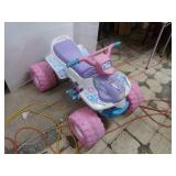 FisherPrice Barbie PowerWheels w/2 Batteries(needs
