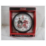 Dale Earnhardt Jr & Sr Wall Clock--Battery Not
