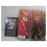 Dale Earnhardt Jr Figurine and Dale Earnhardt Sr