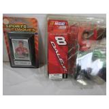 Dale Earnhardt Jr Figurine and Dale Earnhardt Jr