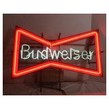 Budweiser Neon Sign--Works