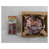 Dale Earnhardt Sr Collectible Plate and Dale