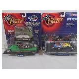 Dale Earnhardt Sr and Jr Die Cast Cars