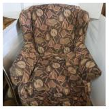"Overstuffed Arm Chair (34"" W x  39""H  x 32""D)"
