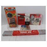 Craftsman Taper Jig, Mask, Craftsman Molding Set,