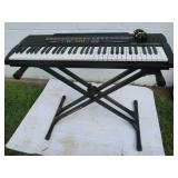 Casio Keyboard--CTK-520L with Stand